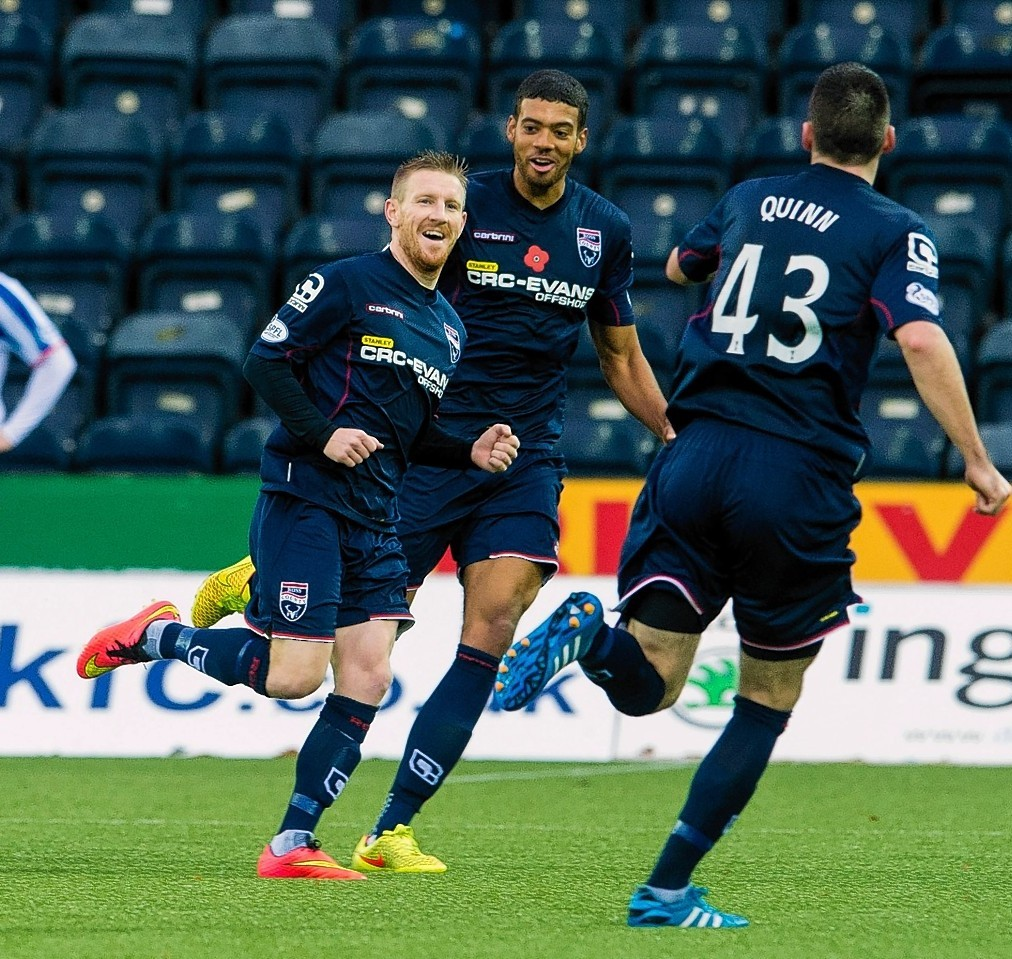 Michael Gardyne has extended his third stay in Dingwall