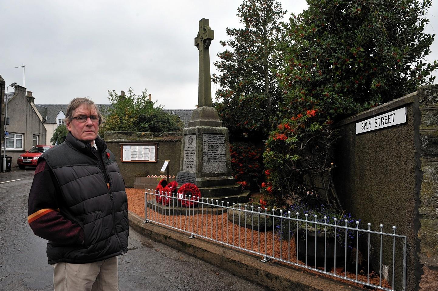 Garmouth war memorial