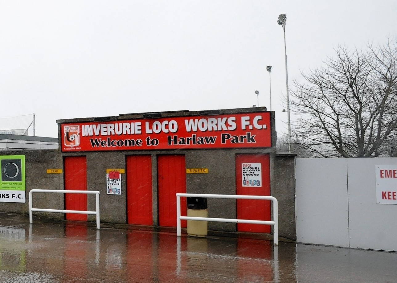 Inverurie's Harlaw Park