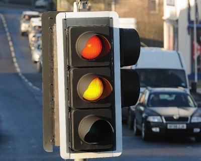 Temporary traffic lights will be in operation on the A82