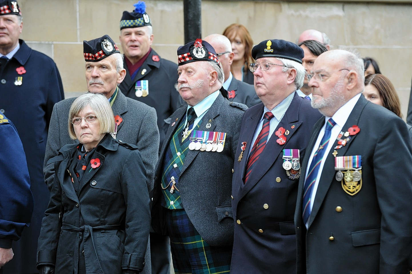 Armistice Day is marked in Inverness