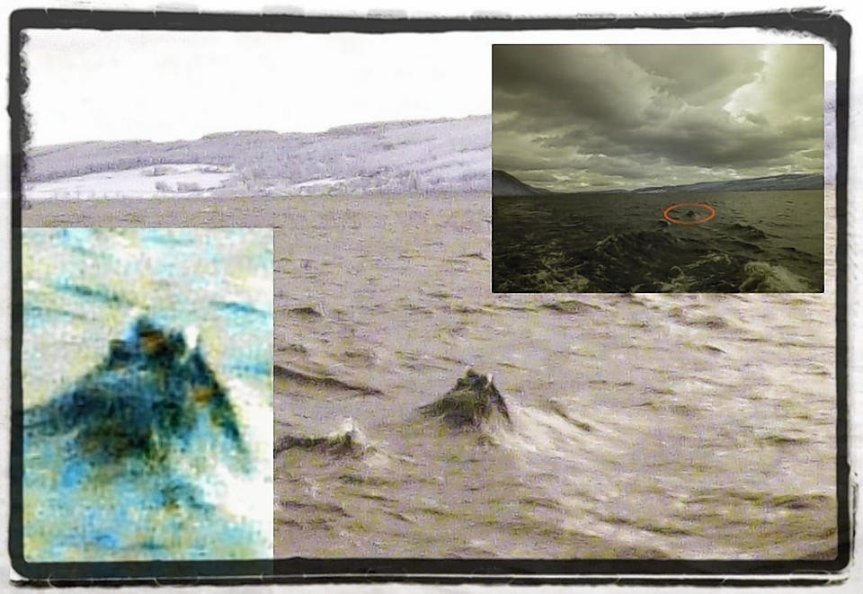 The most recent reported sightings of Nessie