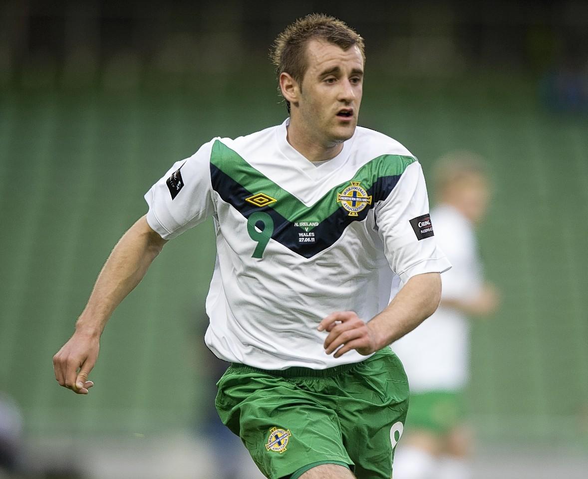 Aberdeen's Niall McGinn will represent Northern Ireland