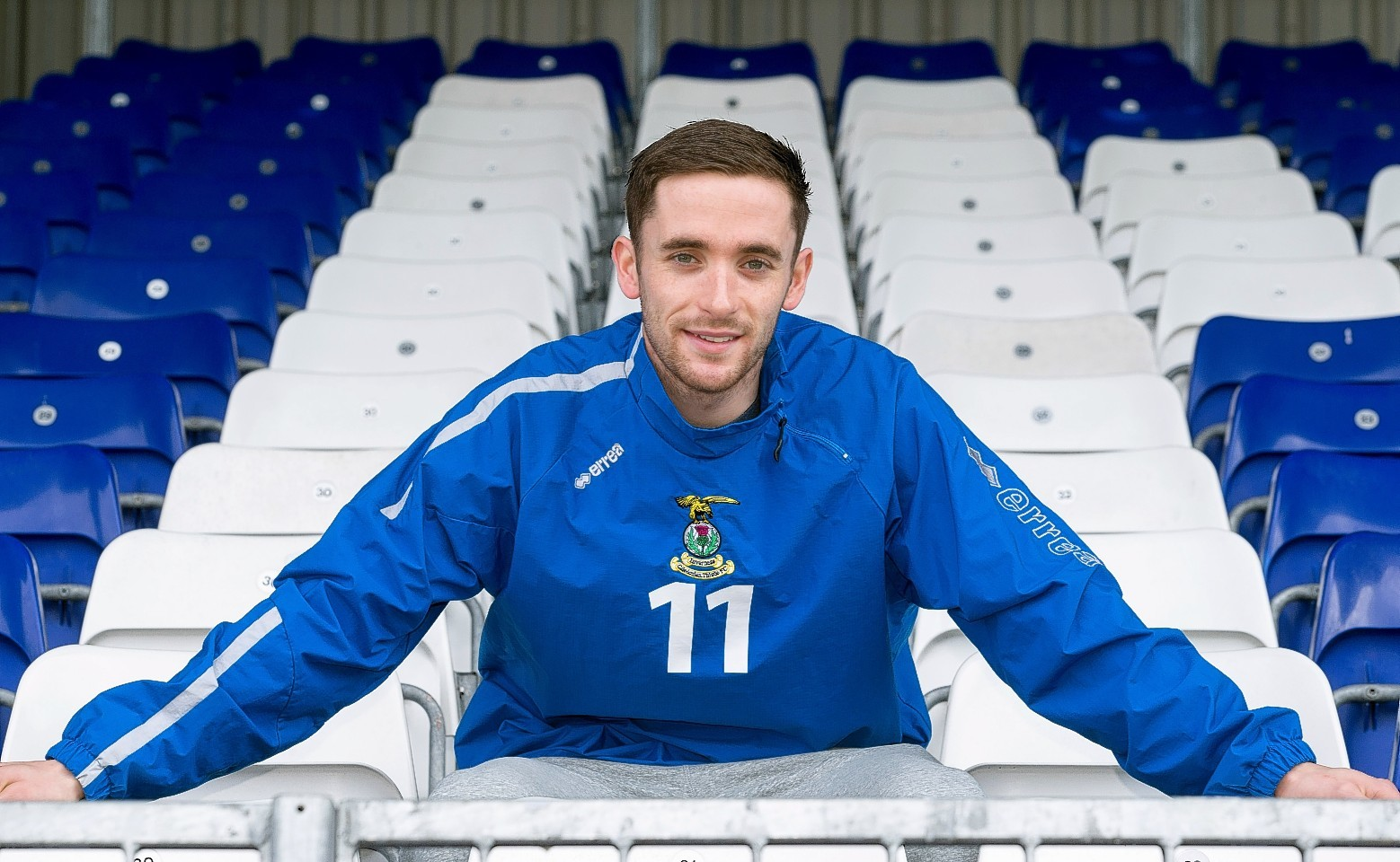 Caley Thistle midfielder Nick Ross