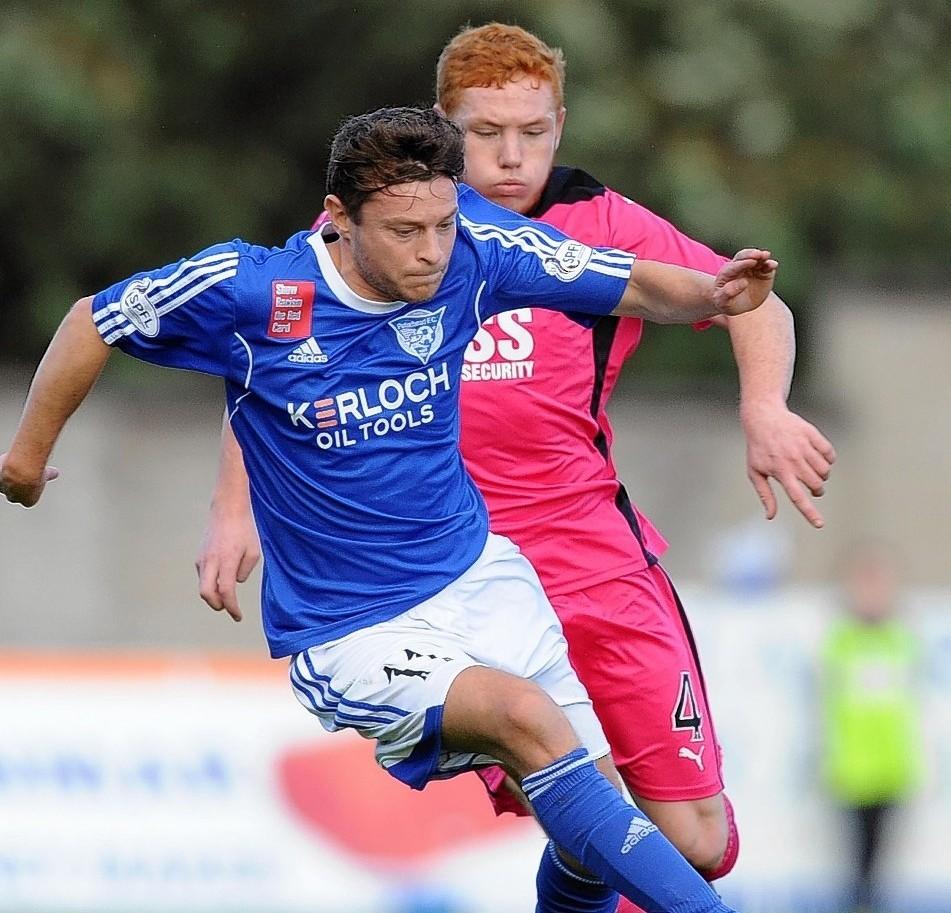 Nicky Riley: Scored the winning penalty for Peterhead.