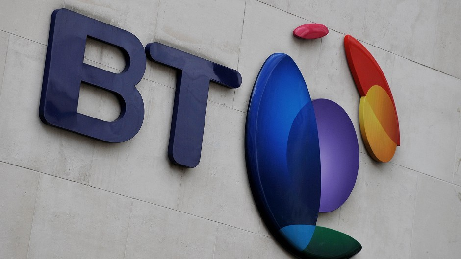 BT has handed Aberdeenshire community groups just under £2,000.