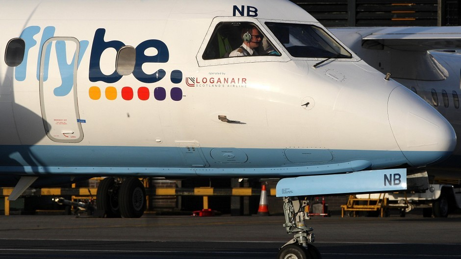 An Inverness bound Flybe jet returned to Birmingham due to a technical fault.