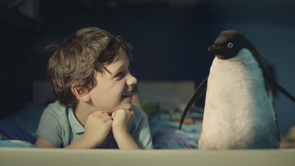 Monty the penguin features in this year's John Lewis campaign