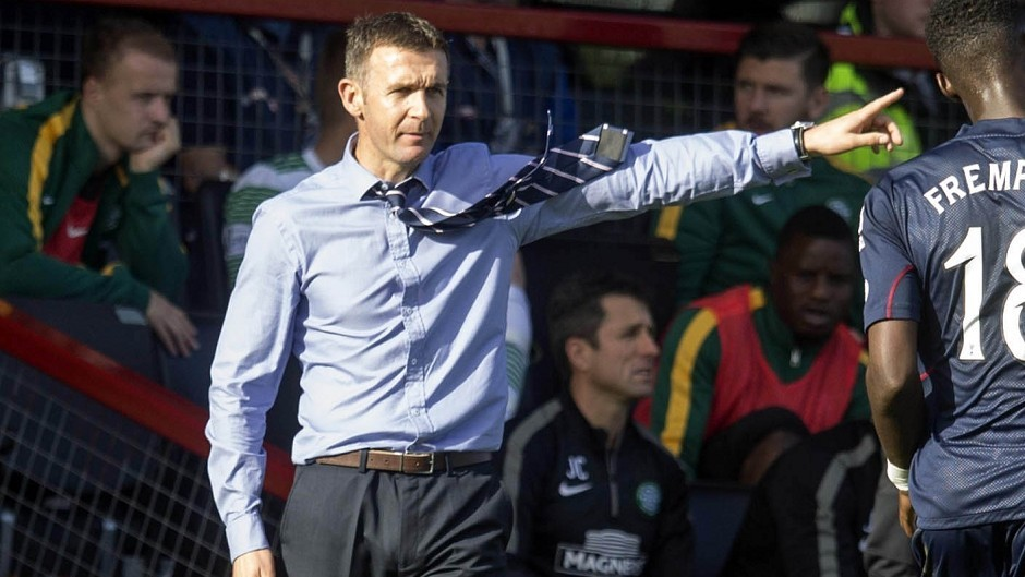 Ross County boss Jim McIntyre has called for his side to sharpen up in attack.