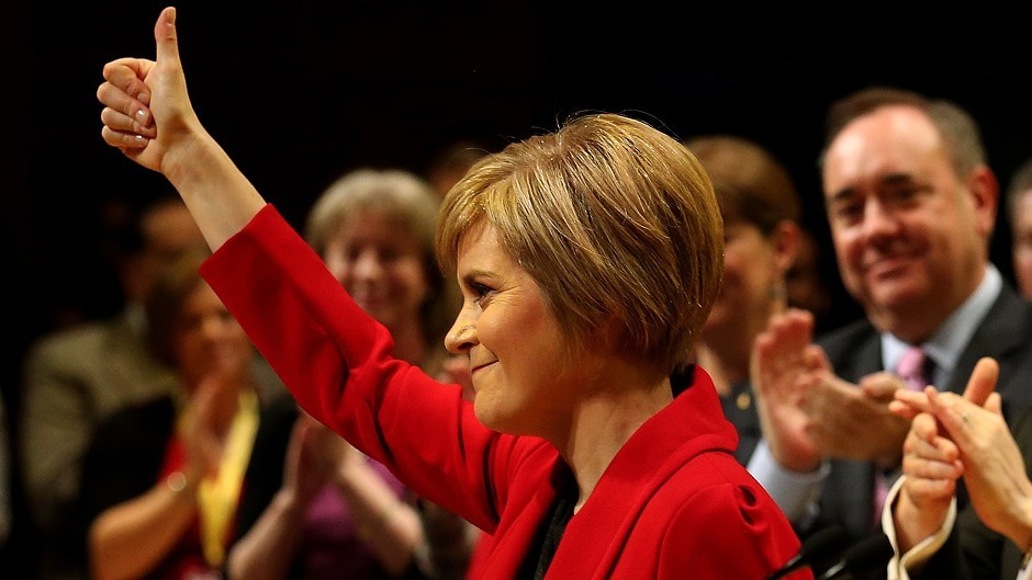 Nicola Sturgeon was in Aberdeen for the last leg of her Scottish tour