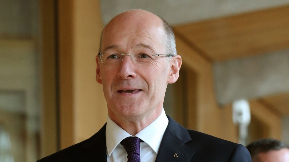 Deputy First Minister John Swinney vowed to continue fighting for more powers for Holyrood.