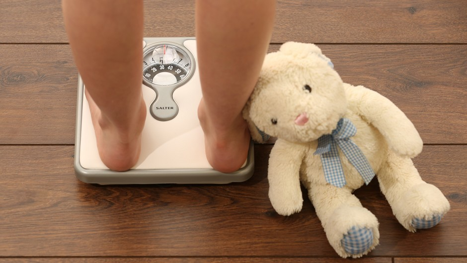 A quarter of children in Shetland are obese.