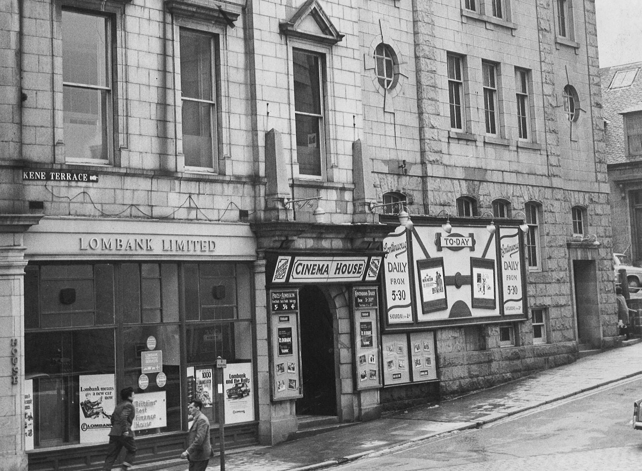 Pictures show golden age of cinema in aberdeen press and for 48 skene terrace aberdeen