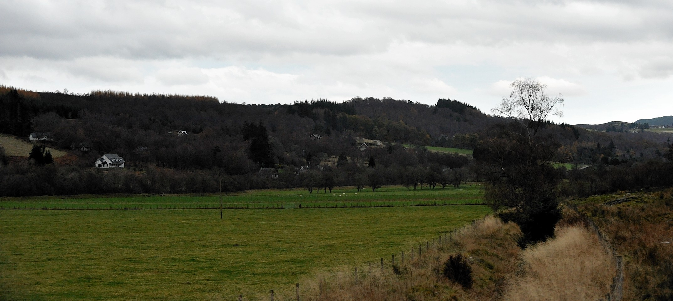 The proposed site of Cnoc an Eas