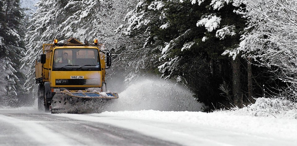 Drivers are being warned to expect snow
