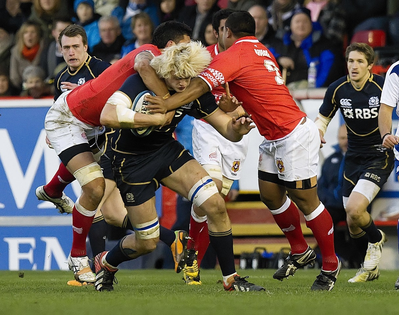 Scotland fell to Tonga in Aberdeen