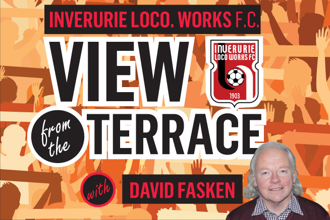 View from the terrace with David Fasken