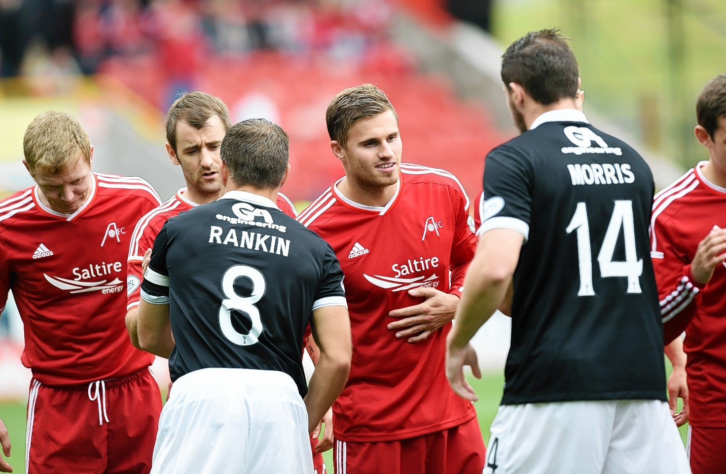 David Goodwillie is set to face his former team again.