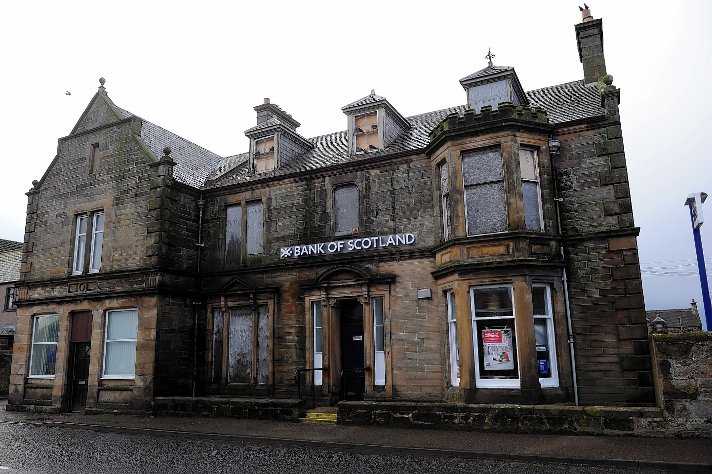 Bank of Scotland in Burghead