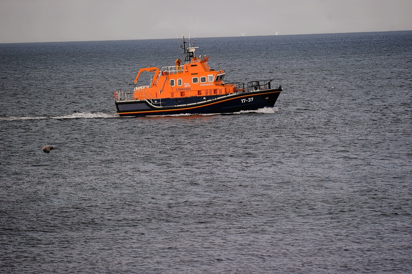 The Buckie Lifeboat was called out