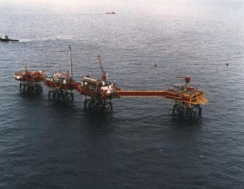 Conoco Philips viking B platform