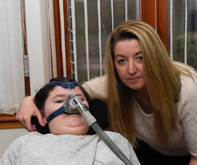 Elysha Robertson with mum Grace