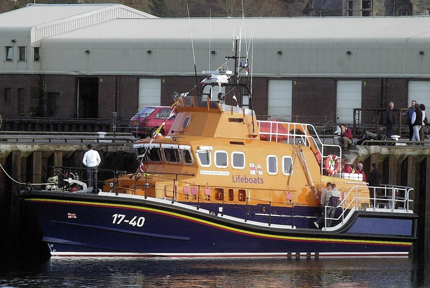The Lochinver Lifeboat
