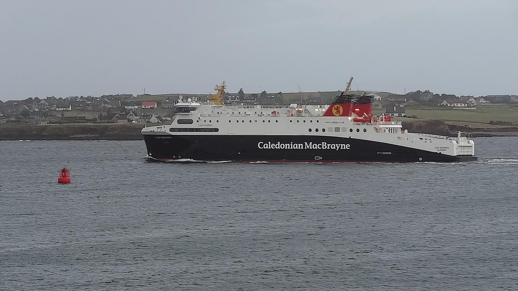 The MV Loch Seaforth