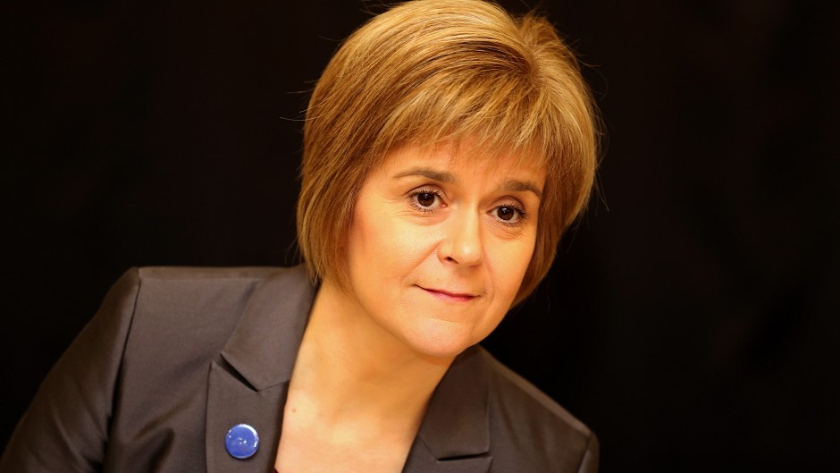 First Minister Nicola Sturgeon wants to develop a spirit of entrepreneurship among young people.