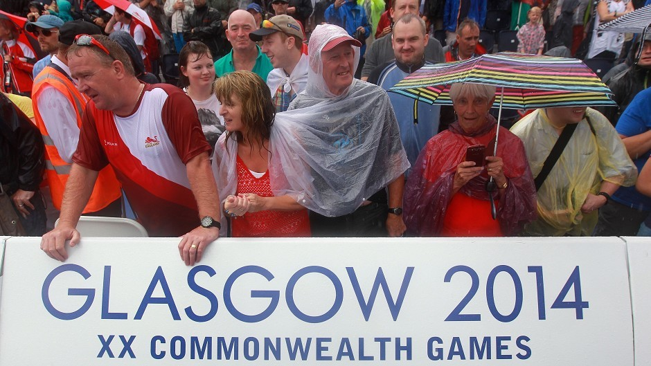 A total of £282 million was spent by tourists during the Commonwealth Games