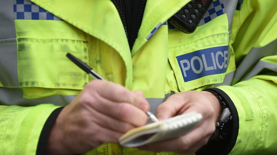 Police attended the incident at Aberdeen's Beach Boulevard