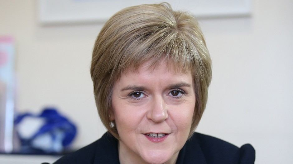 Nicola Sturgeon says she is delighted there is now cross-party support to allow 16 and 17-year-olds to vote