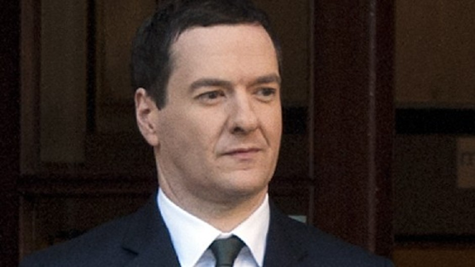 The plans set out by George Osborne will mean spending cuts 'on a colossal scale', it is claimed