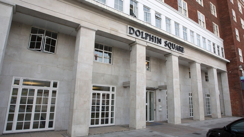 Dolphin Square in Pimlico, London, home of an alleged Westminster paedophile ring.