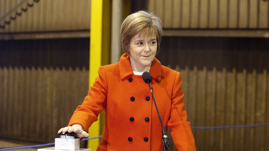 Sturgeon is looking to provide an open and accessible government