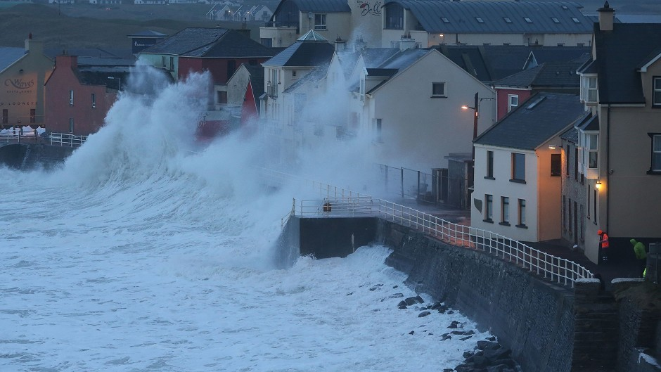 Forecasters have issued weather warnings