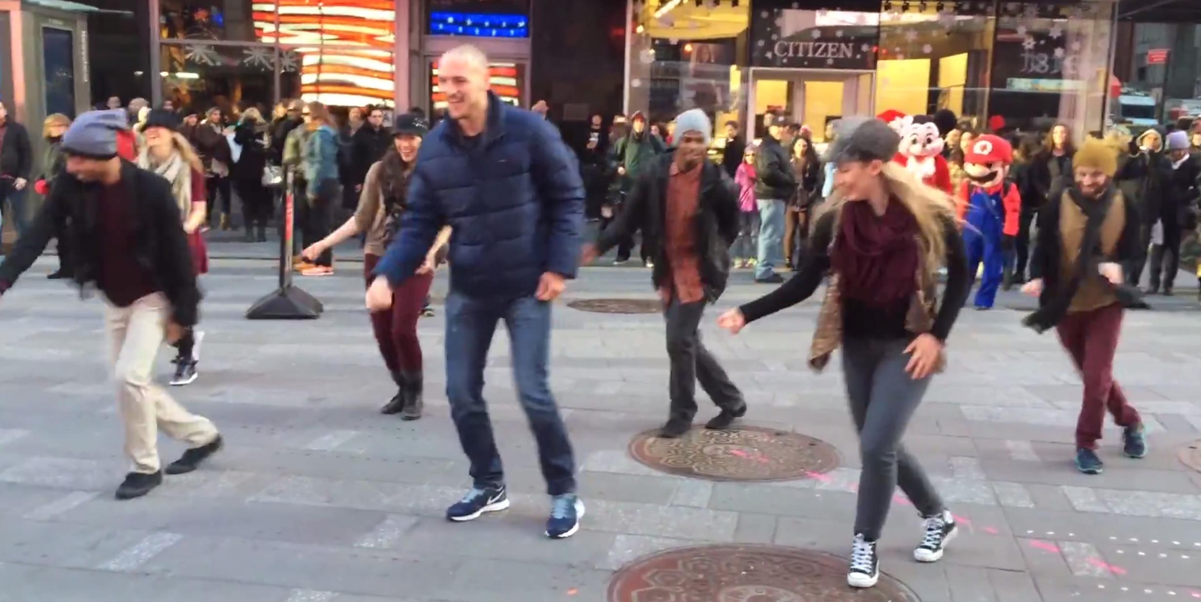 The New York flashmob