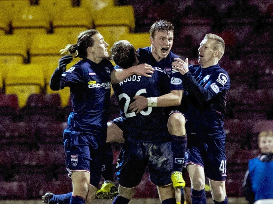 County celebrate Tony Dingwall's late equaliser