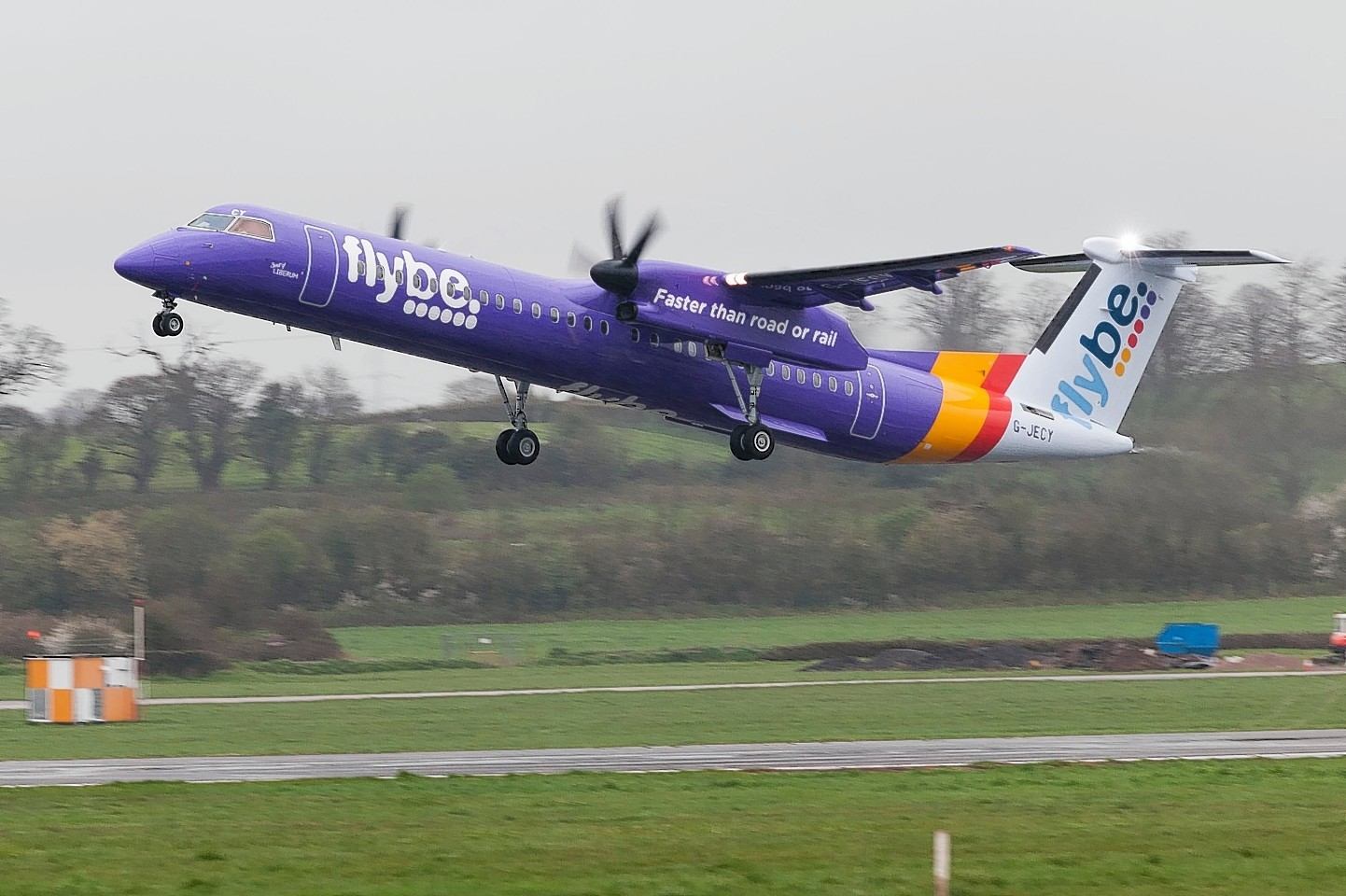 Flybe shares increased in value 16% yesterday.