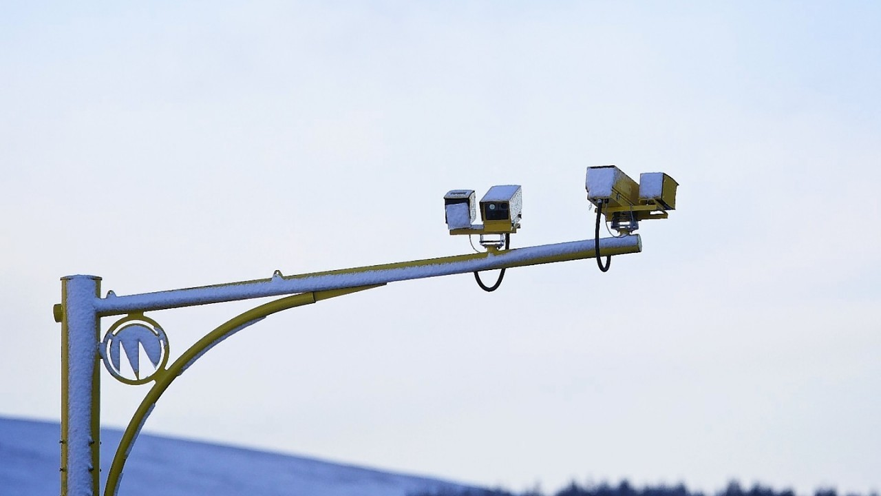 The speed cameras near Fraserburgh have vanished