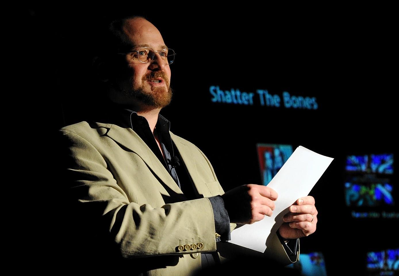 Scottish crime-writer Stuart MacBride