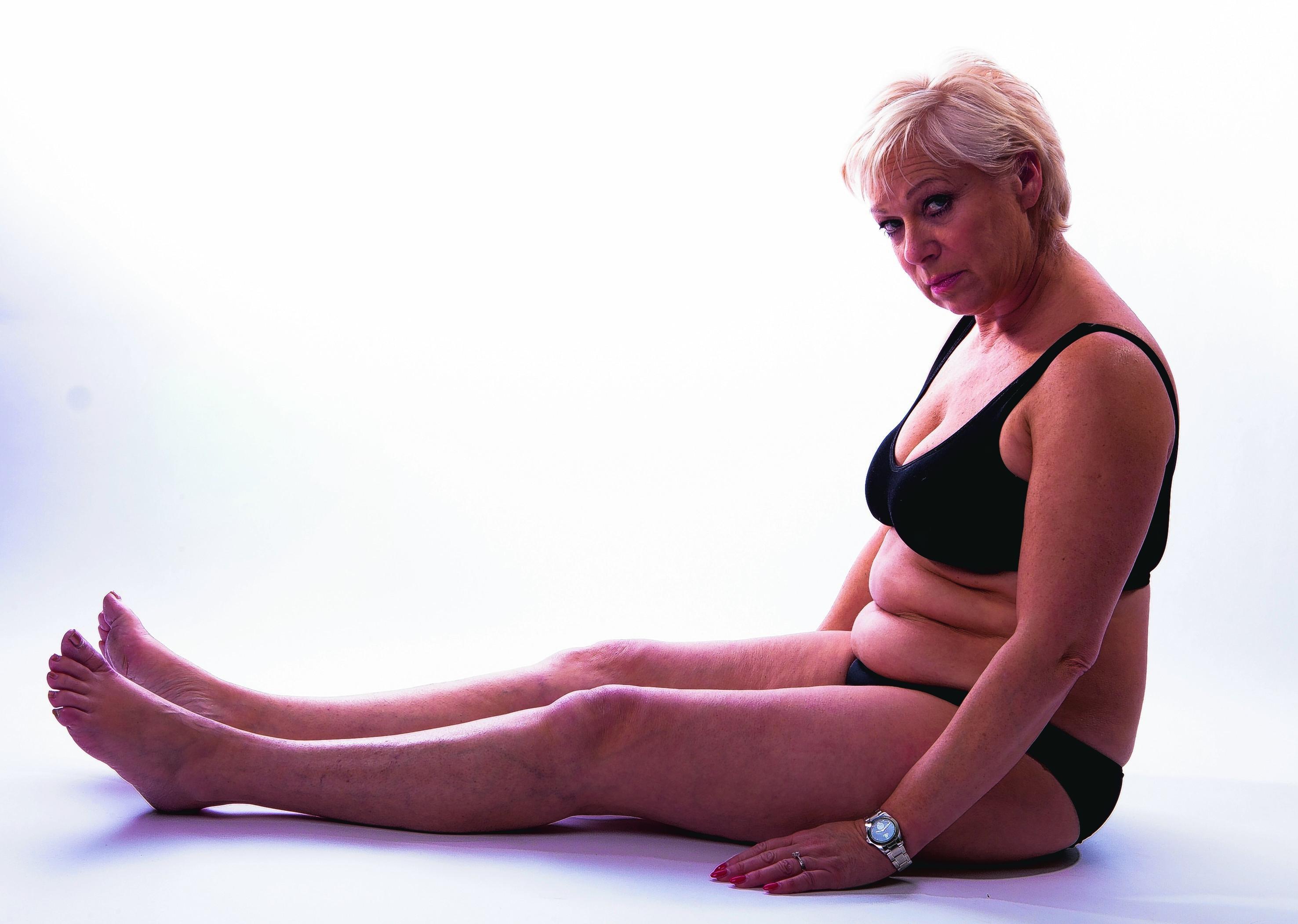 Denise Welch before her diet
