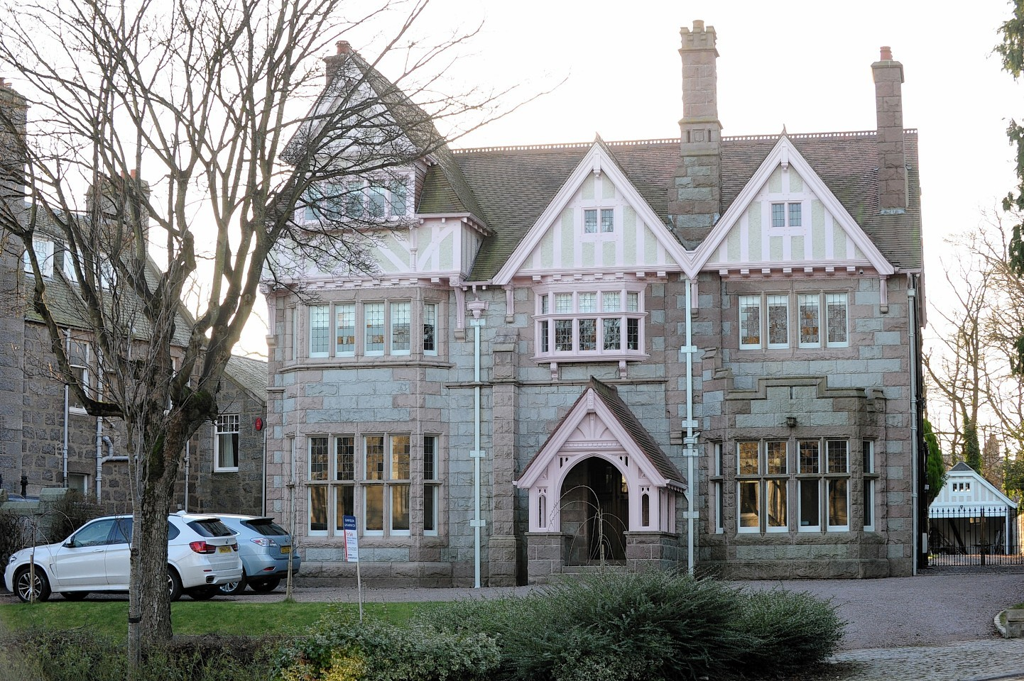 Rubislaw Den North house is currently up for sale for £3.2million