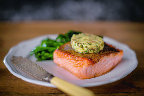 Fresh fish is a good alternative to meat if you're planning a lighter supper