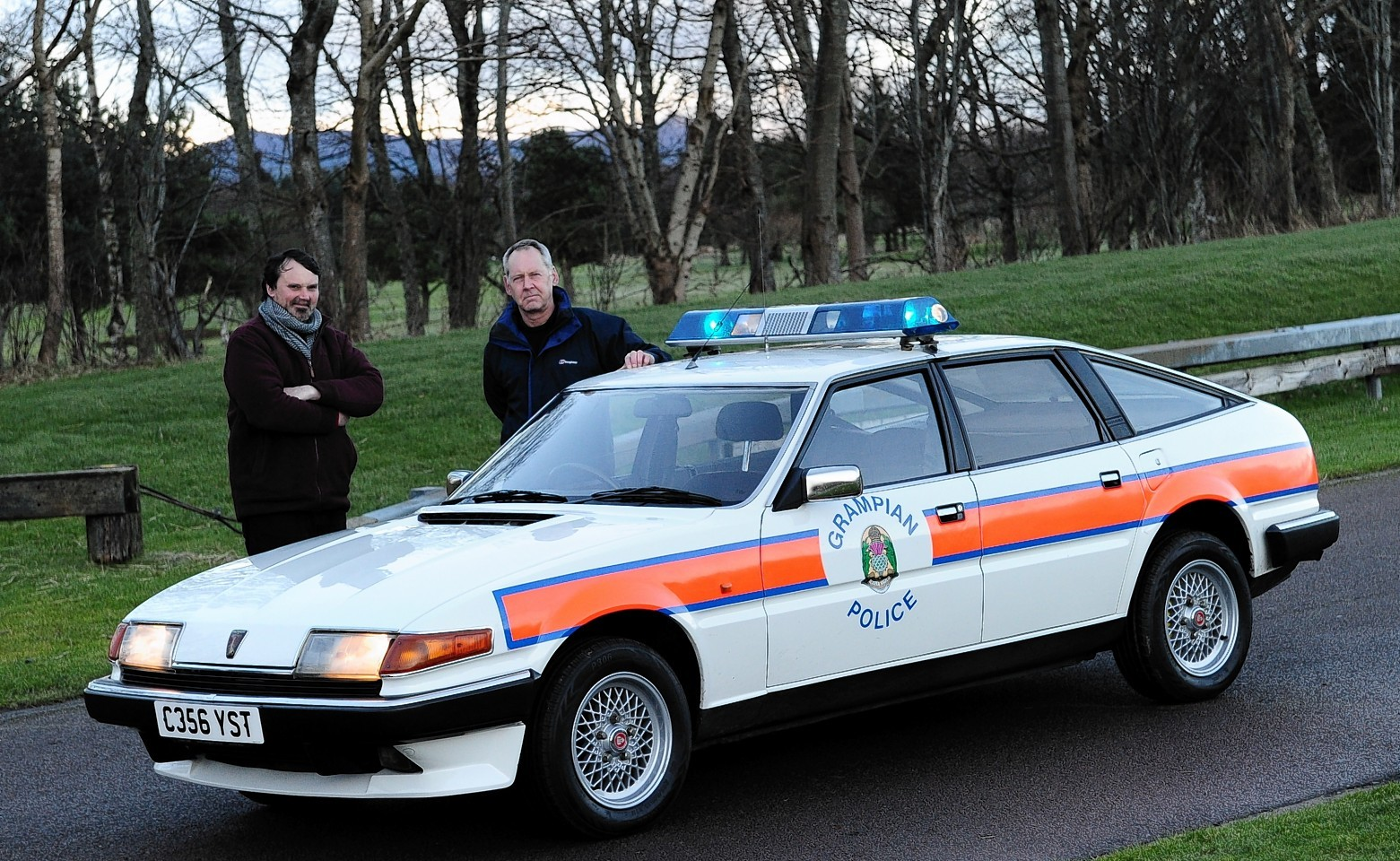video rare police car put back through its paces on alford track press and journal. Black Bedroom Furniture Sets. Home Design Ideas