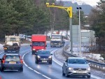 The A9 speed cameras between Moy and Tomatin