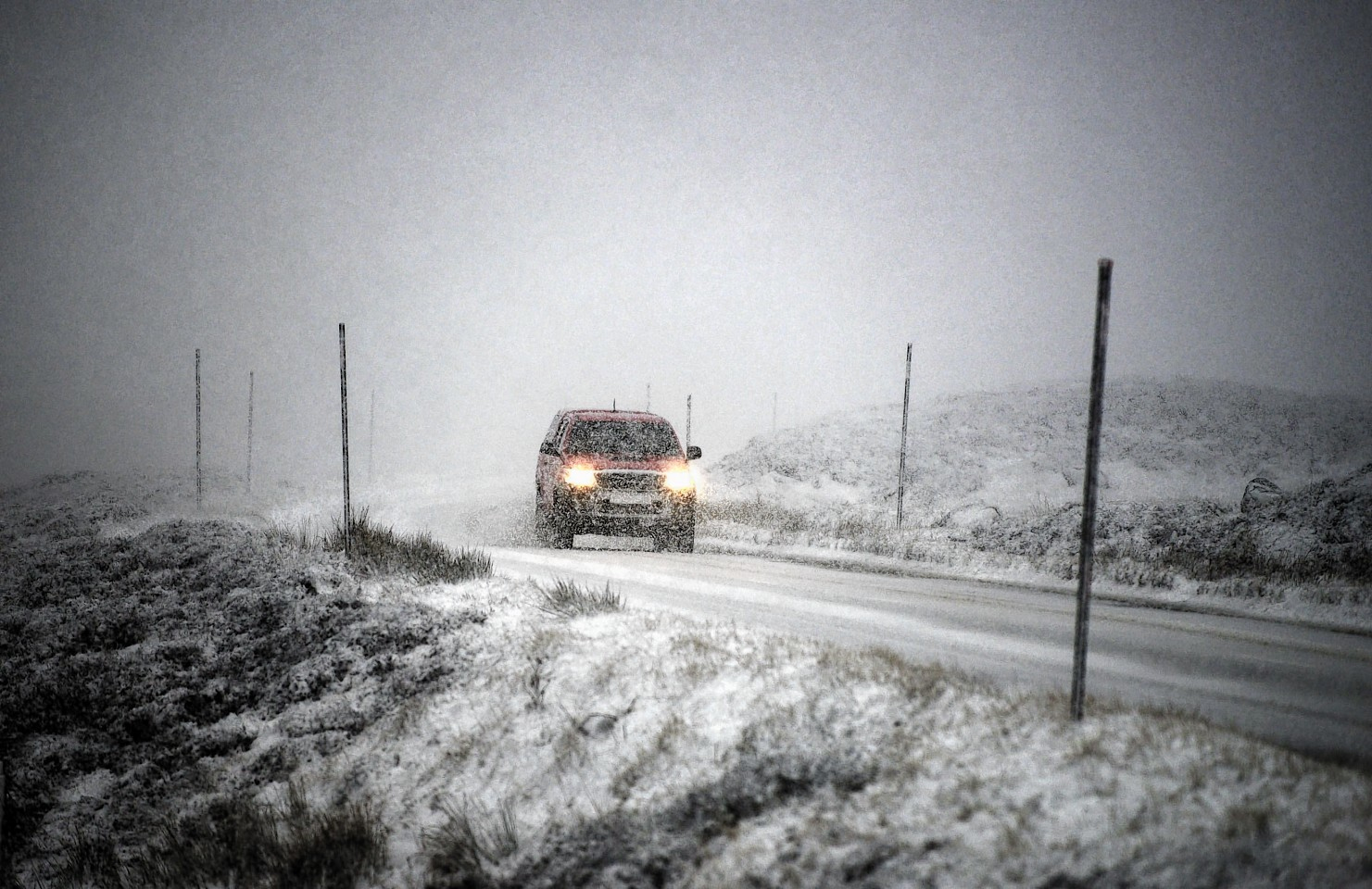 Blizzards Causing Widespread Travel Problems In The North