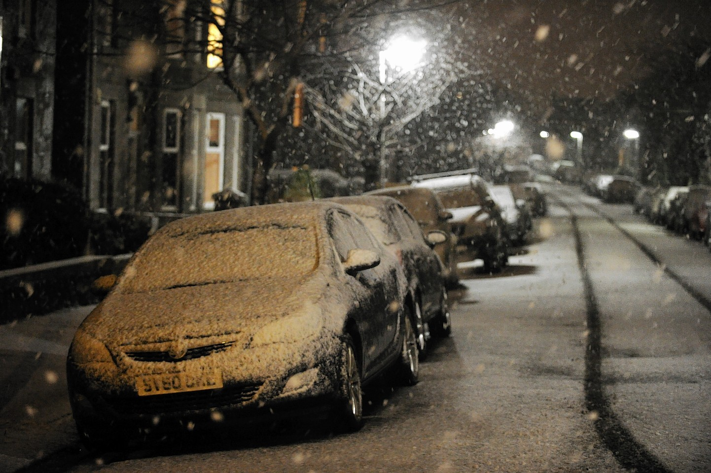 More snow has hit Aberdeenshire, with further forecast for the north-east tomorrow