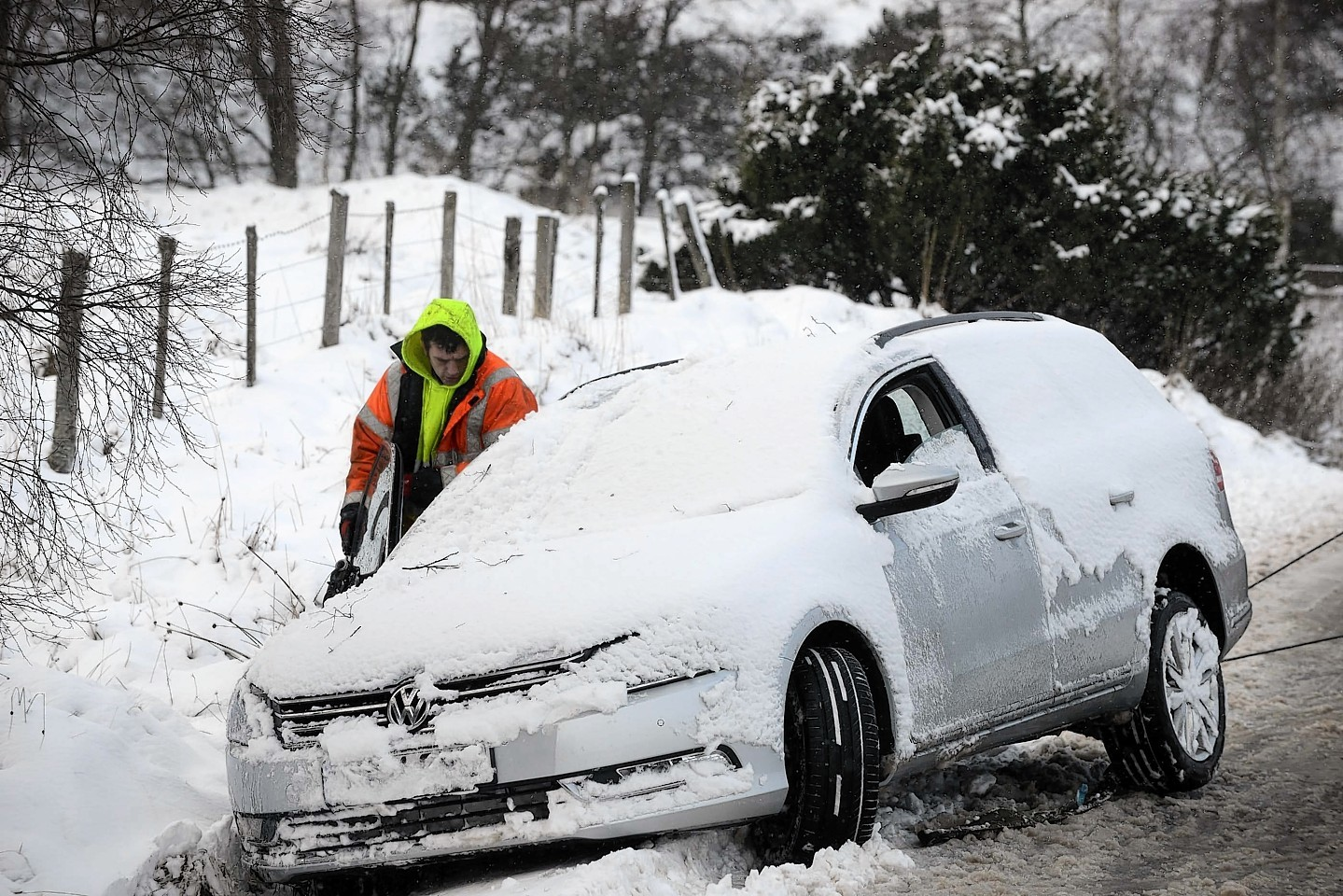 More snow is set to hit the north and north-east