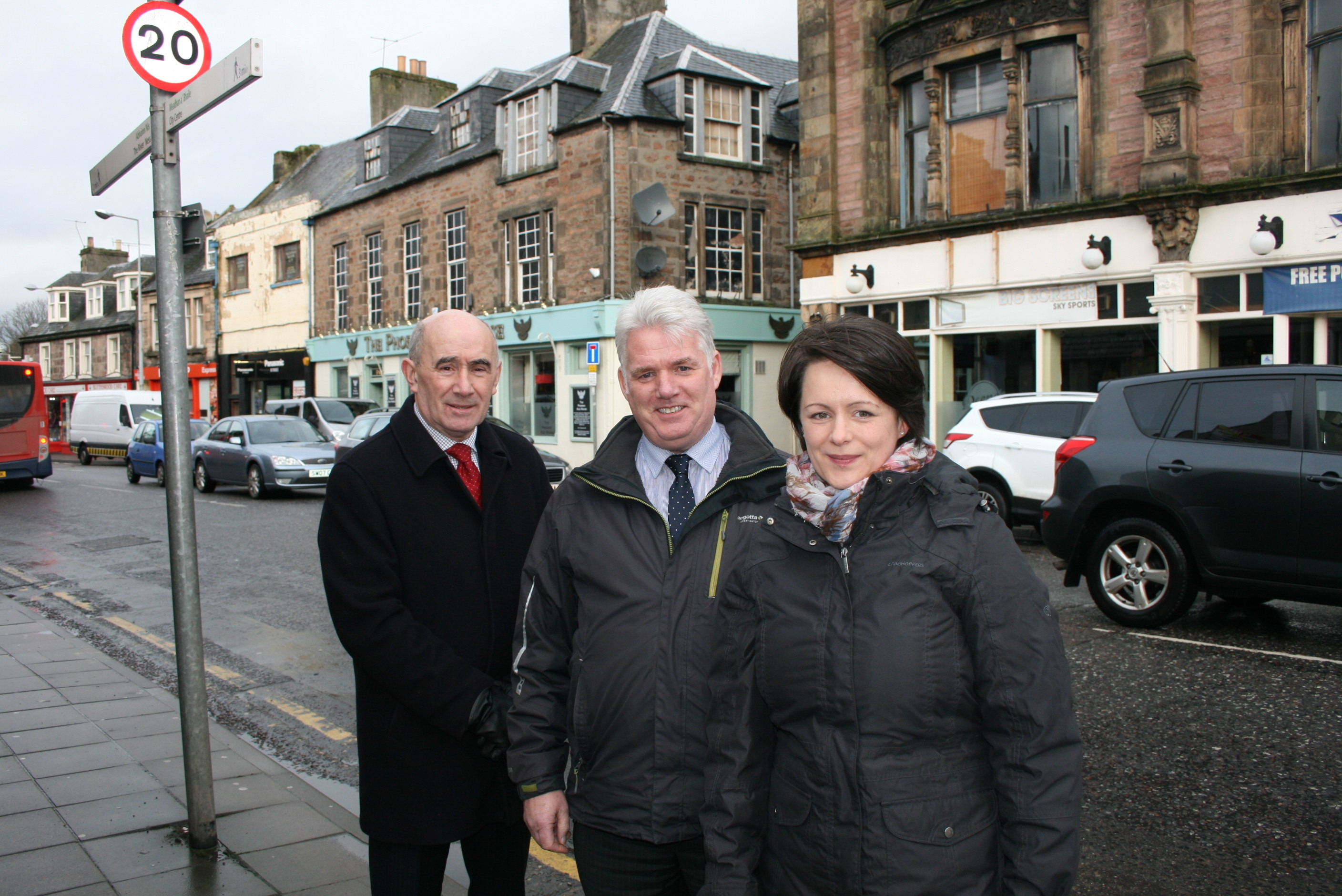The project team on Academy Street